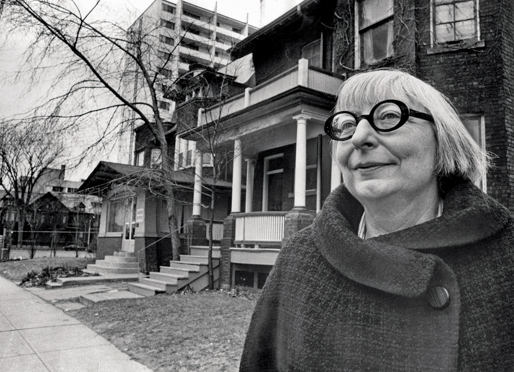Portrait of Jane Jacobs / Portrait de Jane Jacobs