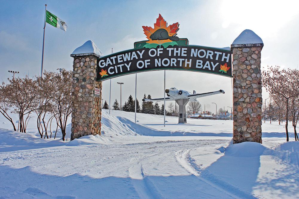 North Bay gateway / L'entrée de North Bay